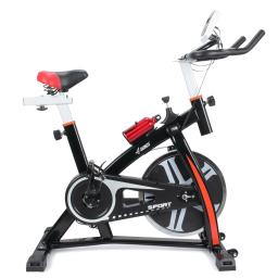 Akonza Indoor Cycle Trainer Fitness Bicycle Stationary Exercise Cycling Health Workout W/ Wheel, Black