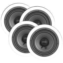 "Architech X-4Bulk 6.5"" Premium Series Ceiling Speakers, Contractor 4 Pk"
