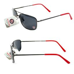 Washington Nationals MLB Polarized Metal Frame Sunglasses