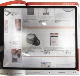 """MagniSheet Deluxe Framed Page Magnifier 10.75""""X8.25"""""""