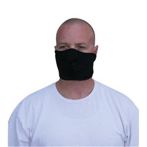 Zan Headgear WFMF114H Facemask Microfleece Half Face Black 523D08C6AF9C0F8B
