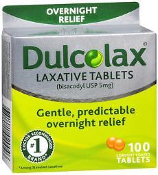 Dulcolax Laxative Tablets - 100ct