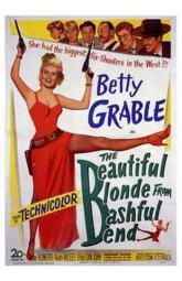 The Beautiful Blonde from Bashful Bend Movie Poster (11 x 17) MOV197015