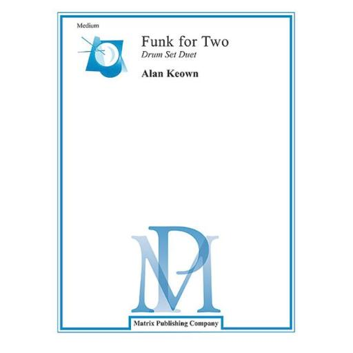 Alfred 00-DSD1 Funk for Two Drum Sets - Music Book