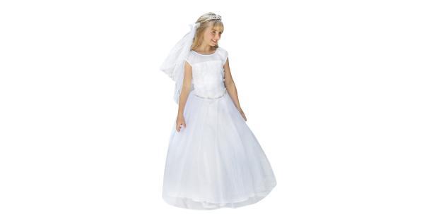 Angels garment angels garment big girls white floral appliques