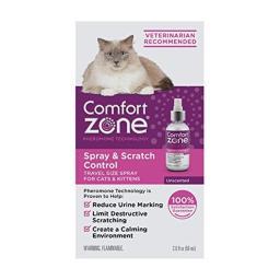 Farnam FA00214 2 oz Comfort Zone & Scratch Control Calming Cat Spray