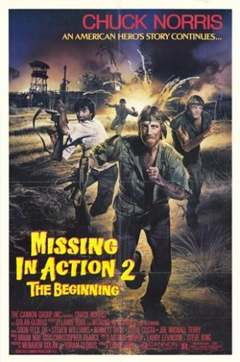 Missing in Action 2 The Beginning Movie Poster (11 x 17) TWCVMVO6FCS7TBFS