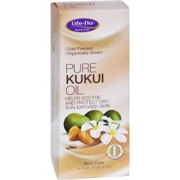 Life-Flo Pure Kukui Oil Organic - 4 fl oz