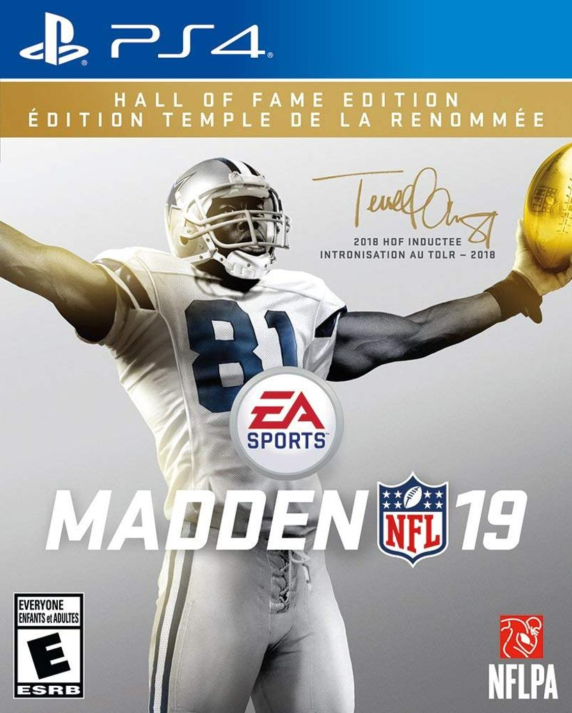 Madden NFL 19: Hall of Fame Edition Playstation 4 PS4