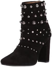 Badgley Mischka Women's Kurt Ankle Boot, Black, 10 M US
