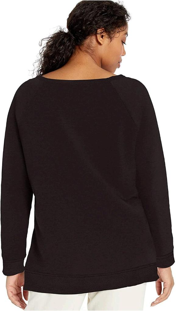 Brand - Daily Ritual Women's Terry Cotton and Modal High-Low Sweatshirt