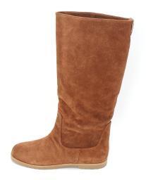 MICHAEL Michael Kors Womens Kenton Flat Boot Leather Closed Toe Knee High Fas...