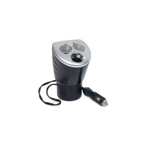 Roadpro Rp492 4-In-1 12-Volt Power Outlet With Three 12-Volt Adapters And One Usb Port
