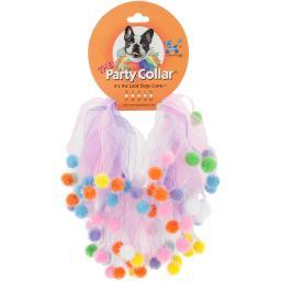 Charming Pet Party Collars-Birthday Small 10""