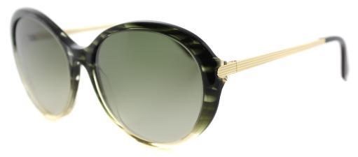 Victoria Beckham Fine Oval Acetate VBS 112 C10 Green Plastic Cat-Eye  Sunglasses Green Gradient Zeiss Lens