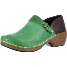 4eursole-work-shoe-women-western-embellished-clog-green-rkyh031-uovca3a1lxrikklv