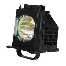 Aurabeam Professional Replacement Lamp with Housing for Mitsubishi 915P061010 TV Lamp.