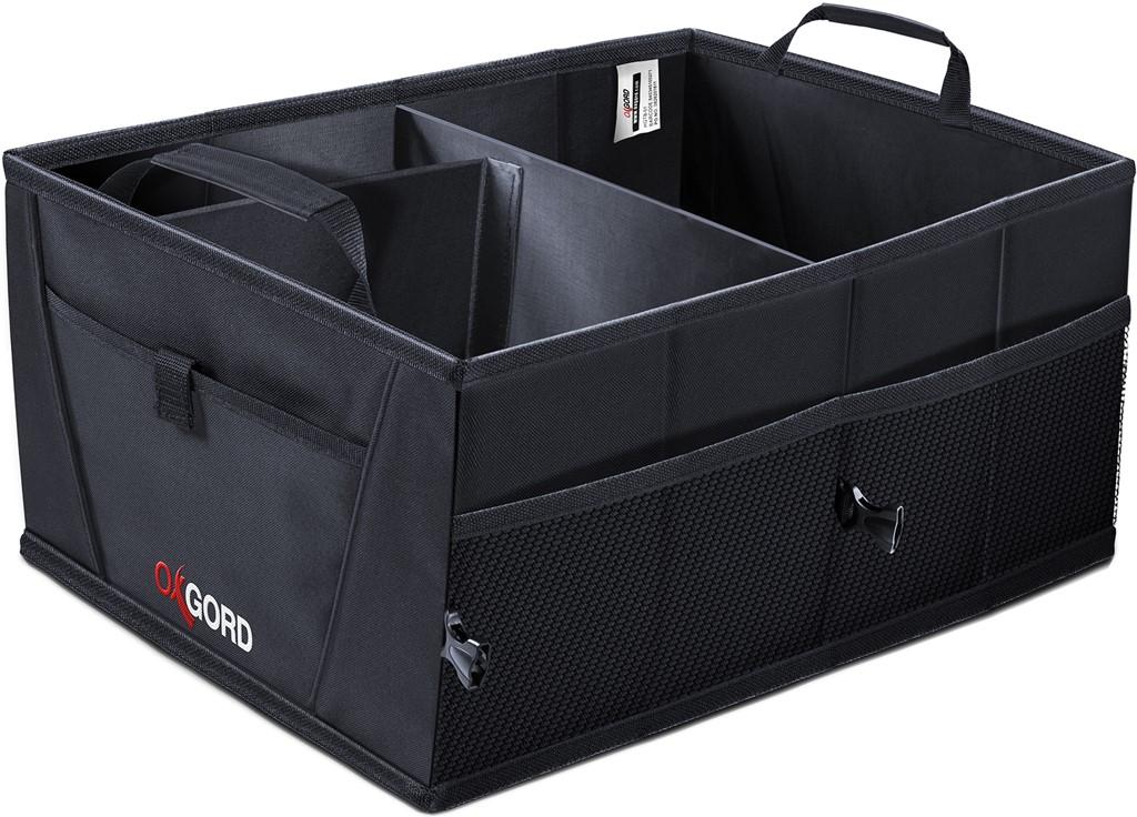 Heavy-Duty Car Trunk Cargo Organizer Folding Tray