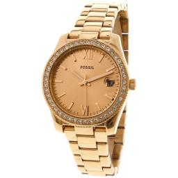 Fossil Women's Tailor ES4318 Rose-Gold Stainless-Steel Japanese Quartz Fashion Watch
