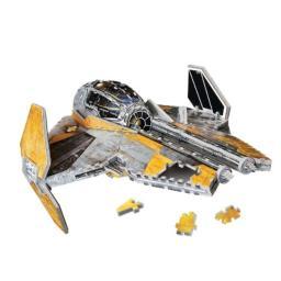 Disney Star Wars Jedi Star Fighter 3D Puzzle, 200-Piece