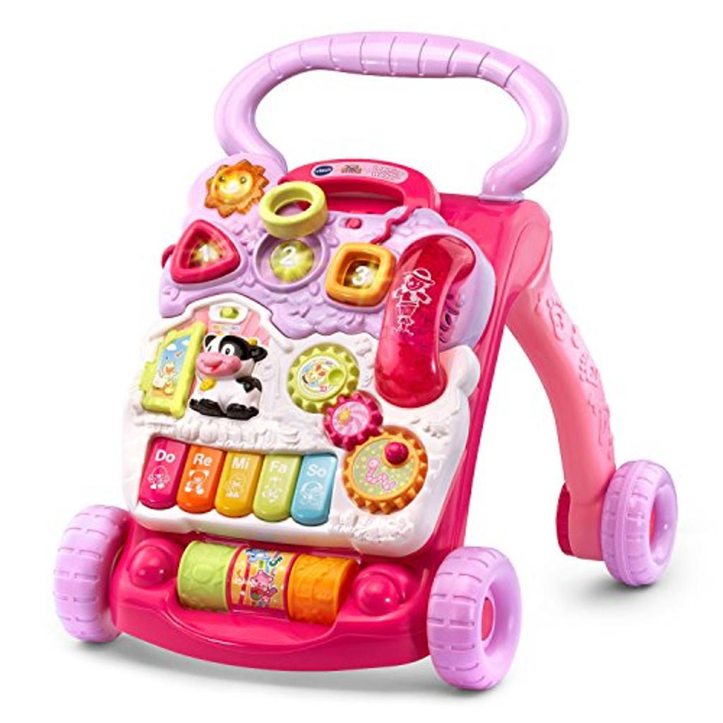 VTech Sit-to-Stand Learning Walker , Pink ( Exclusive)