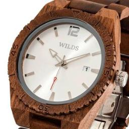 Men's Custom Engrave Walnut Wooden Watch - Personalize Your
