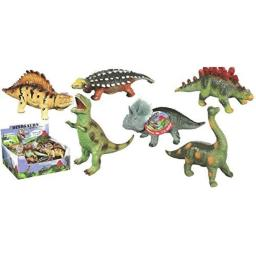 Toysmith Small Squeezable Dino Toy