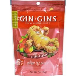 Ginger People Gingins Chewy Scy Apl Bag 3 Oz