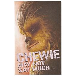American Greetings Star Wars Valentine's Day Card with Foil