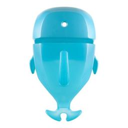 Boon Whale Pod Scoop Bath Toy, Drain and Storage, Blue