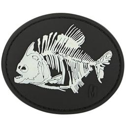 Maxpedition Piranha Bones Patch, Glow