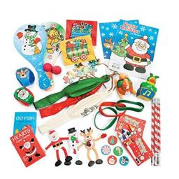 Christmas Stocking Stuffers 52 Pc Assorted Toy - Amazing Set of Fun Toys for Kids Stockings
