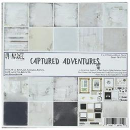 """49 and Market CA-87452 Collection Pack 6""""X6"""" Captured Adventure, Multi"""