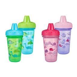 The First Years Stackable Hard Spout Cup, 2Pk, Colors May Vary, Pink