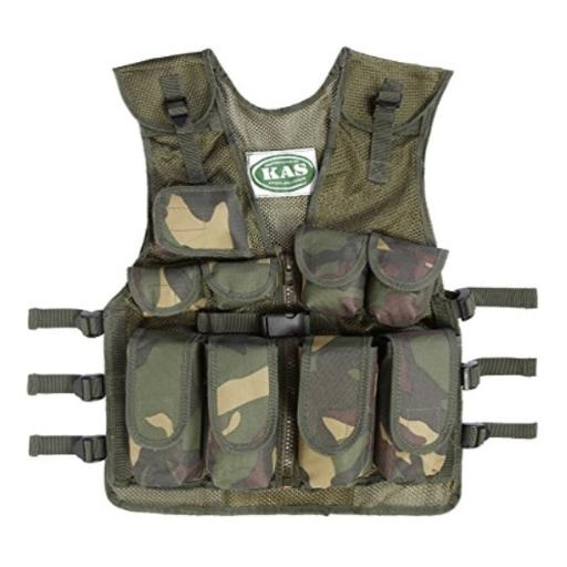 Kids Army Camouflage Combat Vest - Fits Ages 5-13 Yrs thumbnail