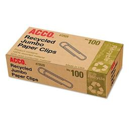 ACC72525 - Recycled Paper Clips by ACCO Brands
