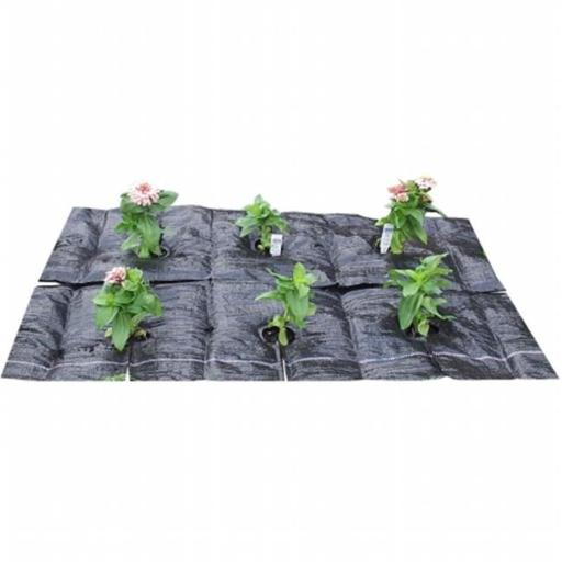 TreeDiaper GM4022 Garden Mat 40 - 40 in. x 22 in. Garden Bed Hydration Mat Sized for EarthMark & Other 36 To 44 in. Raised Garden Beds