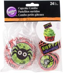 Cupcake Combo Pack-Jack N Ghouls & Spider 24/Pkg W4157198