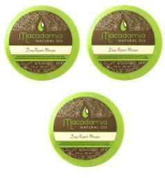 Macadamia Hair Care Deep Repair Masque 8 Oz Pack of 3