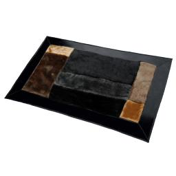 Onitiva - Coffee Cheese  Patchwork Rugs (19.7 by 31.5 inches)