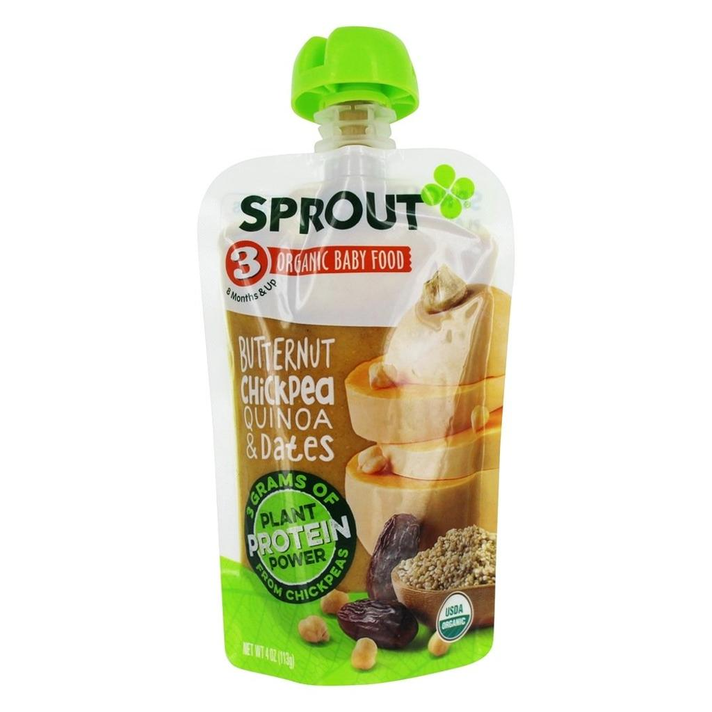 Sprout - Organic Baby Food Stage 3 8+ Months Creamy Vegetables with Chicken
