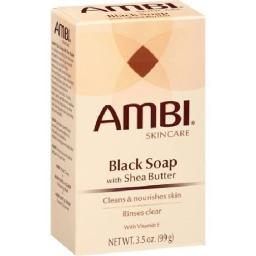 Ambi Skincare Black Soap with Shea Butter