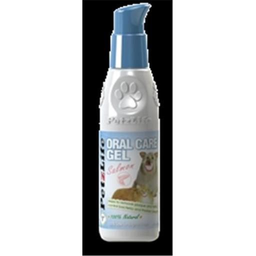 PetzLife 000477 Complete Oral Care Salmon Oil Gel, 4 Oz