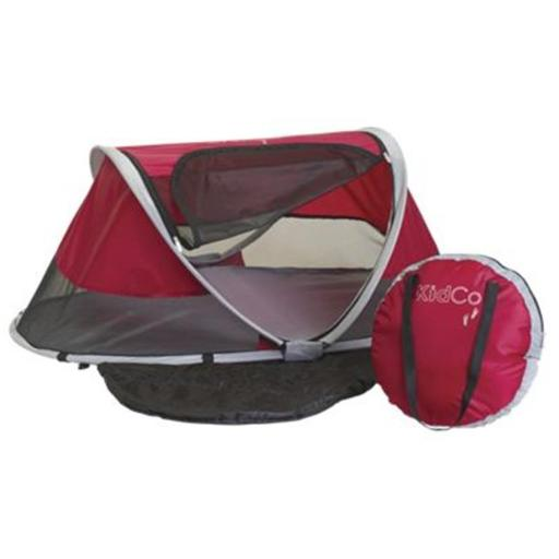 Kidco P3010 PeaPod Travel Bed For Kids - Cranberry