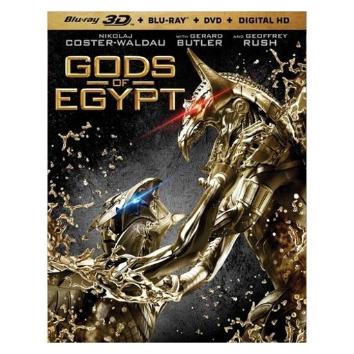 Gods of egypt (blu ray/dvd/3dbr/digital hd) (3-d) 1300466