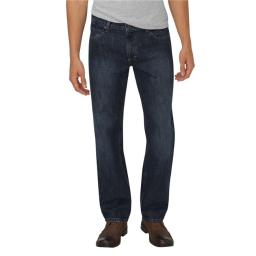 Dickies XD740HDI 30 30 Mens Relaxed Fit Straight Leg 5 Pocket Jean, Heritage Dark Indigo - Size 30 XD740HDI 30 30