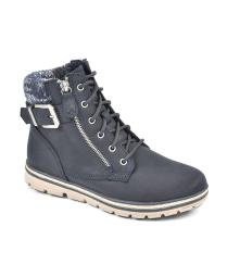 Cliffs by White Mountain Womens Kelsie Lace-Up Booties