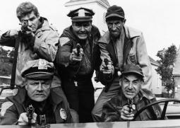 The Russians Are Coming The Russians Are Coming Front From Left: Brian Keith Cliff Norton Rear From Left: Richard Schaal Jonathan Winters Guy Raymond 1966 Photo Print EVCMBDRUAREC011HLARGE