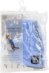"Akc Cooling Vest Large 14""-15""-blue"