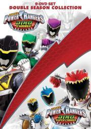 Power rangers-dino charge & dino super charge collection (dvd) (9discs) D52983D